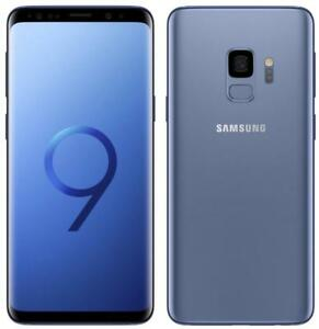 Samsung Galaxy S9 SM-G9600 / SM-G960F/DS Dual SIM 64/128GB Coral Blue Midnight Black / Titanium Gray - Factory Unlocked