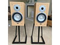 Eltax Liiberty 3+ Speakers with Target Audio Stands