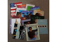 30 CONCERT PROGRAMMES - Bruce Springsteen, Michael Jackson, Genesis, U2, Sky, Elkie Brooks, etc.