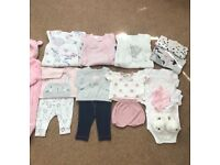 Baby girls clothes 0-3 designer labels