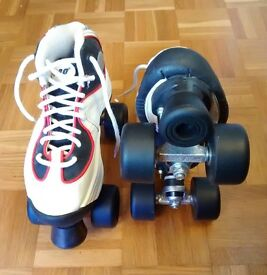 Unused Kids Quad Roller Skates, size 4