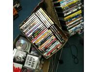 DVDs over 100 + CDs