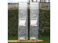 Two new Wickes Chelsea steel metal wall fence railings RRP £80