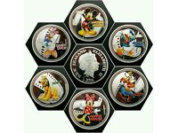 DISNEYS CHARACTER'S SET OF 6