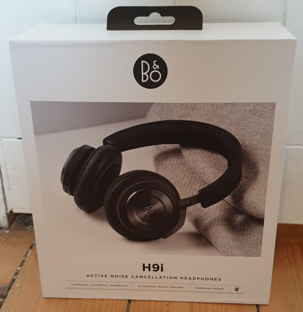 78f1c82e324 Bang & Olufsen (B&O) H9i Wireless Bluetooth Active Noise Cancelling  Over-Ear Headphones for sale