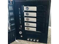 Thecus N series 5 Bay All In One NAS (Network Attached Storage) Enterprise Class server