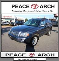 2007 Toyota Highlander Hybrid Limited 7-Passenger, Leather