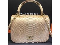 New style Chanel real snake skin bag 2018 collection