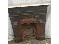 Lovely Cast Iron Fire Place