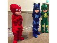 Party Entertainers, Mascots, Elsa, Paw Patrol, Spiderman, Mickey Mouse, Minions and many more