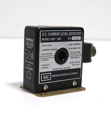 American Aerospace Controls S201-800 Dc Current Level Detector