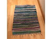 Multicolour woven rug