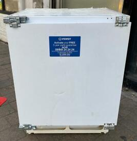 Indesit Under Counter Integrated Fridge Freezer (Fully Working & 3 Month Warranty)