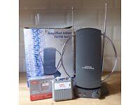 Indoor TV Aerial and TV Signal Meter