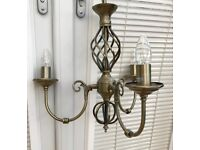 Ceiling Lights with matching free standing lamp
