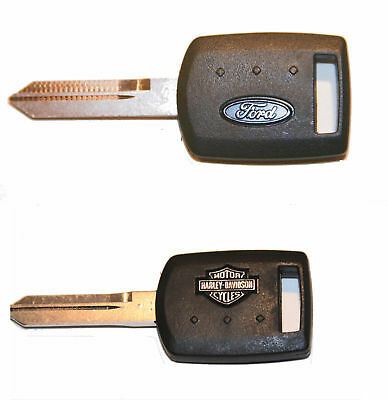 🔥ONE NEW FORD OEM *F150* F250 F350 F450  HARLEY DAVIDSON KEY BLANK 1999-2012