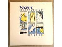 Yazoo – Nobody's Diary / Situation Ltd Ed Numbered1700 12 Inch Vinyl