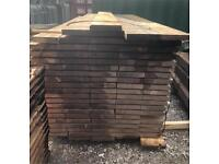 🍄 NEW UNTREATED WOODEN/ TIMBER SCAFFOLD BOARDS - 2.4M