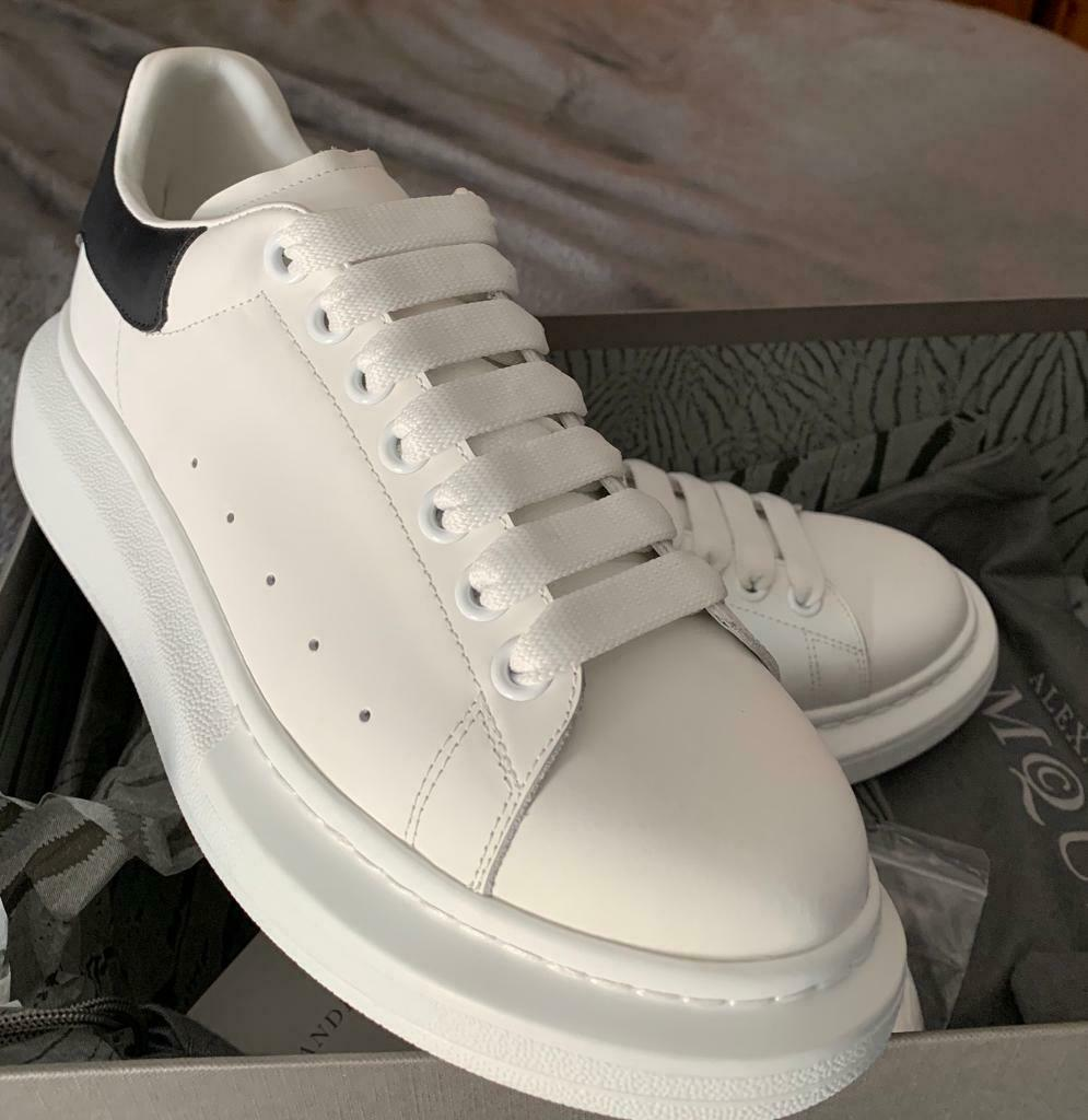 da90dbfc7ae9d Alexander McQueen trainers white/black SIZE 6 | in Woodford, London ...