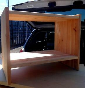 "SMALL MINI-SHELF from IKEA - blonde wood, assembled.  Oakville 905 510-8720 Size: 20""x16""x12"" high"