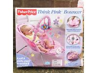 Baby bouncer for girls