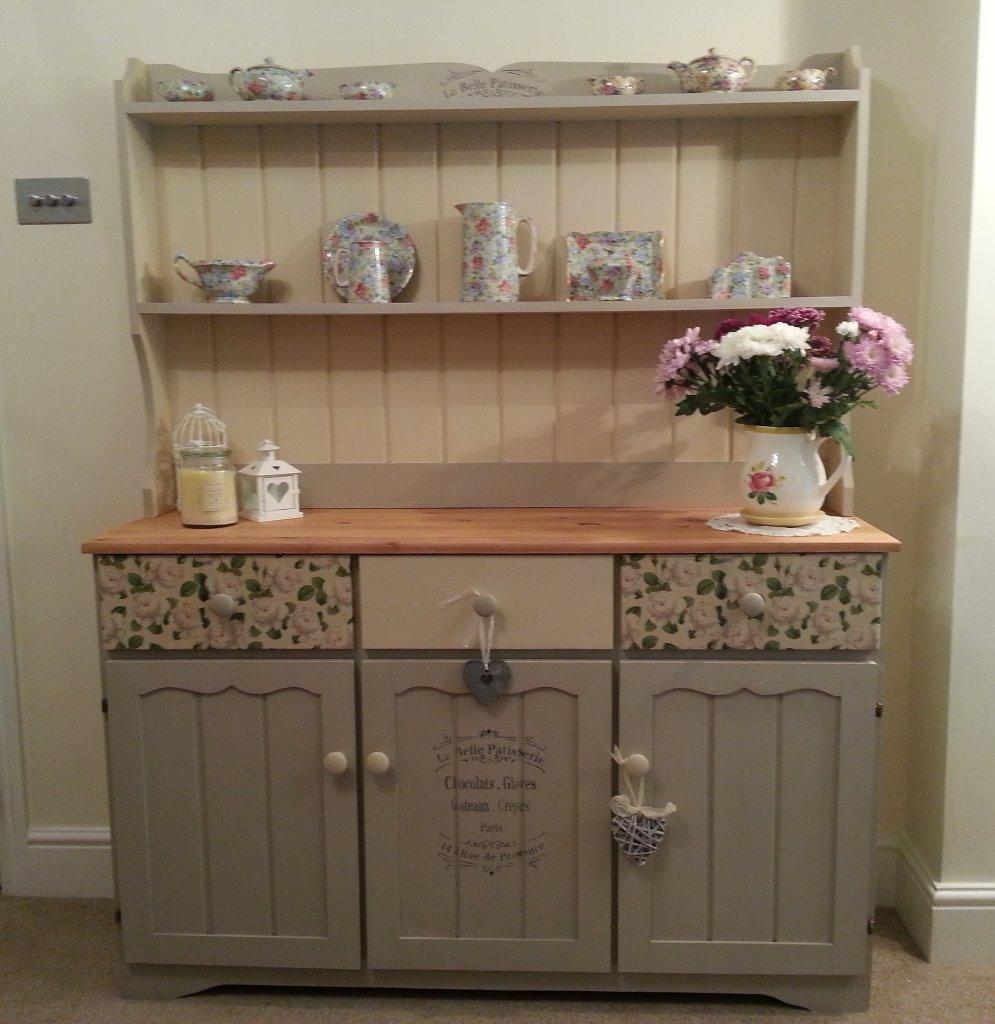 Chalk painted welsh dresser in kidderminster for Furniture kidderminster