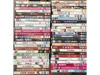 DVD collection of 50 various romance and rom-com films