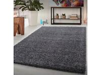 Brand new Extra large shaggy thick rug size 290x200cm big shaggy rugs £115