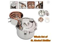 Alcohol distiller (for personal use). 8L capacity. Open to offers.