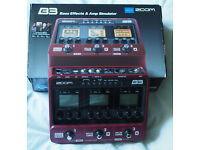 Zoom B3 bass effects unit