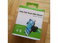 Mobile Phone Mount for Bike Bicycle - Samsung Galaxy 5 6 7 8 & Apple iPhone Mobile