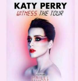 Katy perry tickets x2