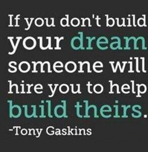 Start working for yourself or build someone else's