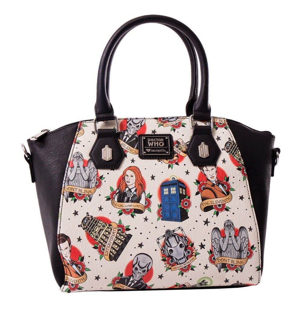 f16528a64a1 WANTED Loungefly Doctor Who Tattoo style handbag - Amy Pond, Tardis,  Eleventh Doctor | in Woodville, Derbyshire | Gumtree