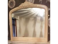 Ornamental Marble Mirror
