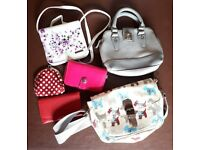 Collection of handbags & purses