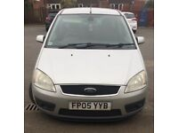 Sliver c-max focus 05 plate with only 50,000 miles on the clock