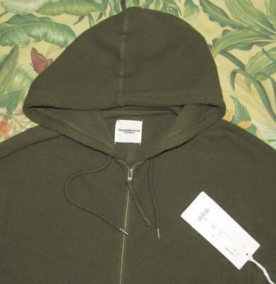 TAKAHIROMIYASHITA The Soloist Olive Oversized Cotton Hoodie Sweater Japan 46 NWT
