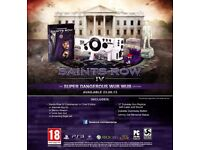 Saints row 2 and 4 limited edition extras