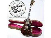 1982 Gibson USA Les Paul Custom Wine red & Gibson Hard Case