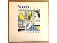 "Yazoo – Nobody's Diary / Situation Ltd Ed Numbered1700 12"" Inch Vinyl Original"