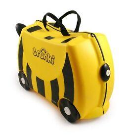 Trunki Ride-on Suitcase - Bernard the Bee (Yellow) Used