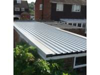 Swap your leaking old aspestos garage roof for a new water tight one!
