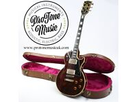 1982 Gibson Les Paul Custom Wine Red & Gibson Hard Case - Superb Player!