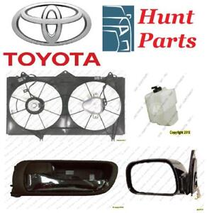 Toyota Camry 2002 2003 2004 2005 2006 Coolant Reservoir Bottle Cooling Fan Assembly Door handle Inner Outer Mirror