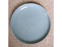 "Denby Homestead Brown dinner plates 26cm/10"""