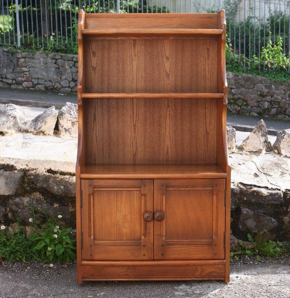 Ercol Waterfall Bookcase