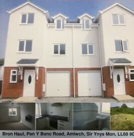 Lovely 4 bedroom 3 storey house in Amlwch, Anglesey to rent