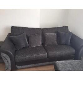 4 SEAT SOFA 2 SEAT SOFA BED &FOOTSTALL
