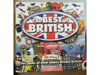 As New - The Best of British Logo Board Game - Played Once Briefly